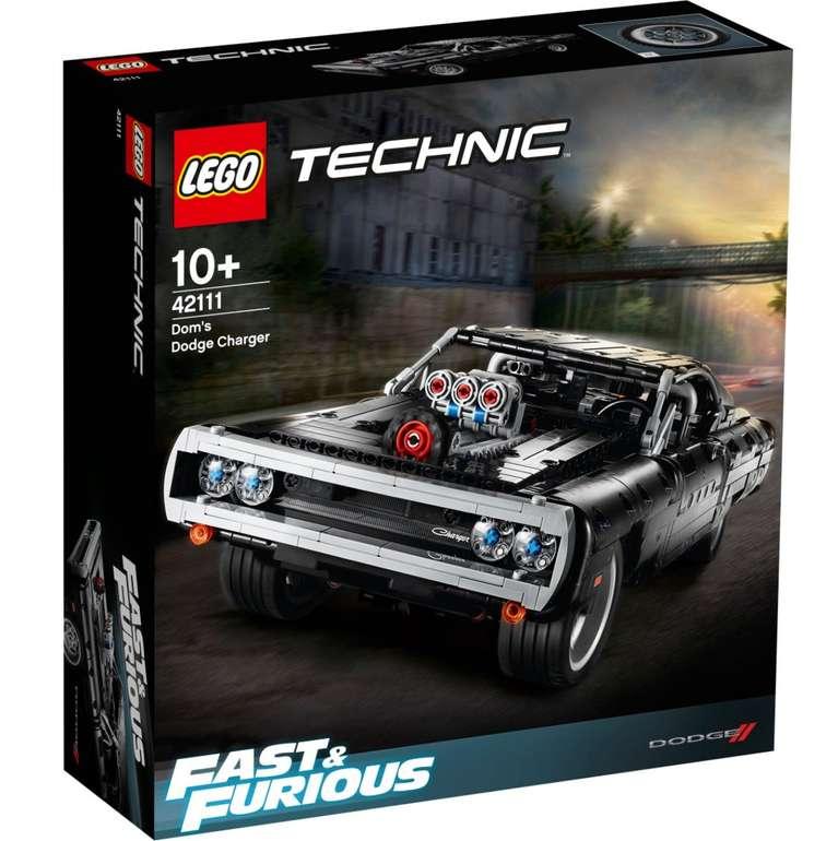 Lego Technic - Dodge Charger (42111) für 68,90€ inkl. Versand (statt 78€)