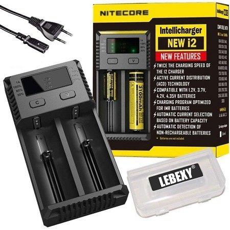 Nitecore NEW i2 Intellicharge Ladegerät für viele Batterie-Arten nur 13,99€