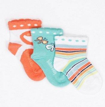Boboli Neugeborenen- & Kindermode reduziert z.B. 3er Pack Socken zu 4,99€ + VSK