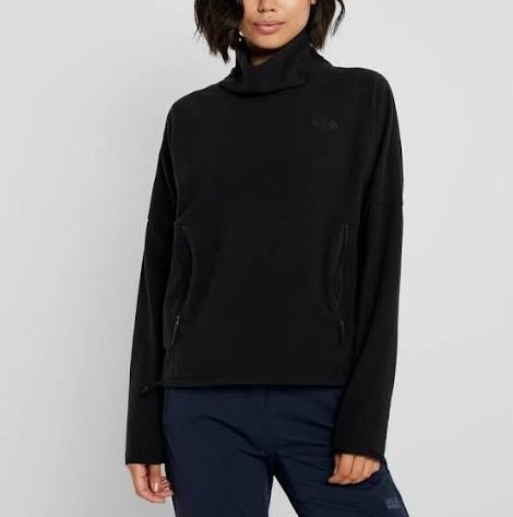 The North Face TKA Glacier Funnel-Neck Damen Freizeitpullover für 35,64€ (statt 63€)