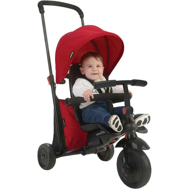 Smartoys mitwachsendes Dreirad smarTfold 400 in rot für 79,99€ inkl. Versand (statt 118€)
