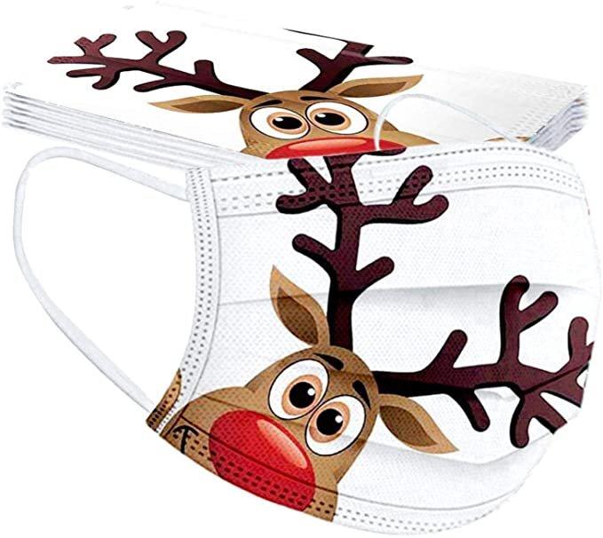 Huyuri 10er Pack Einweg Mund-Nasen-Masken mit verschiedenen Motiven für je 2,99€ inkl. Versand