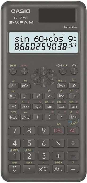 Casio FX-85MS Taschenrechner für 14,99€ inkl. Versand (statt 20€)