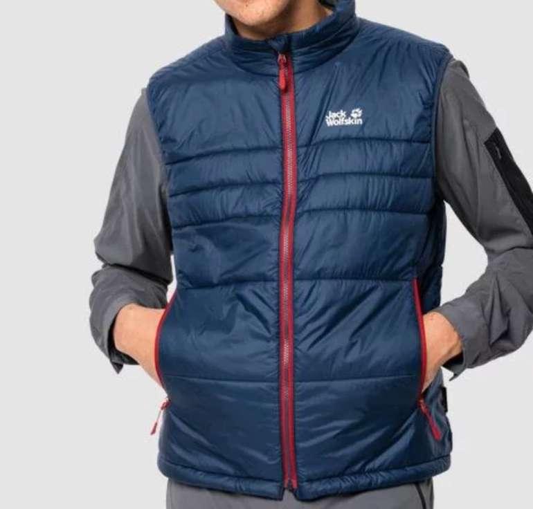 """Jack Wolfskin """"Argon Vest M"""" - Winddichte Herren Steppweste für 49,90€ (statt 74€)"""