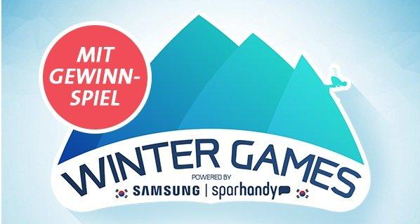 Sparhandy Samsung Wintergames z.B. S8+ inkl. 8GB LTE & VF Allnet-Flat für 41,99€
