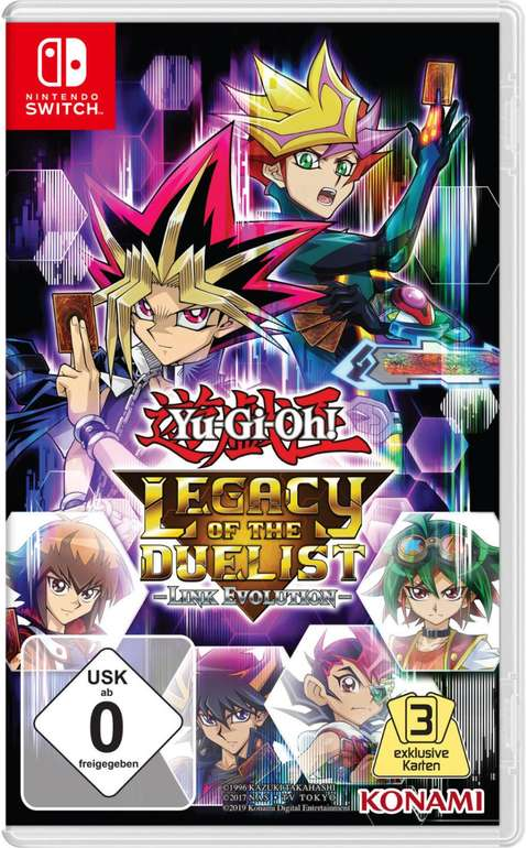 Yu-Gi-Oh! Legacy Of The Duelist: Link Evolution (Nintendo Switch) für 20,99€ (statt 32€)