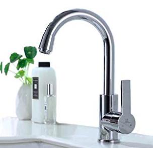 Homelody - Küchenarmatur mit 360° drehbarem Wasserhahn für 21,99€ inkl. VSK