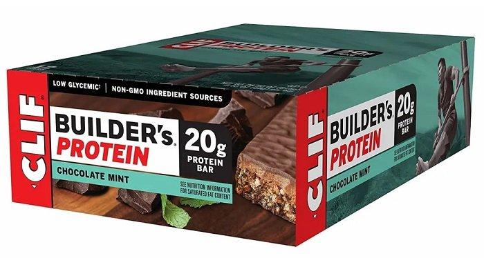 12 Pack Clif Builder's Protein Bar Riegel (20g Protein) für 13,89€ inkl. VSK