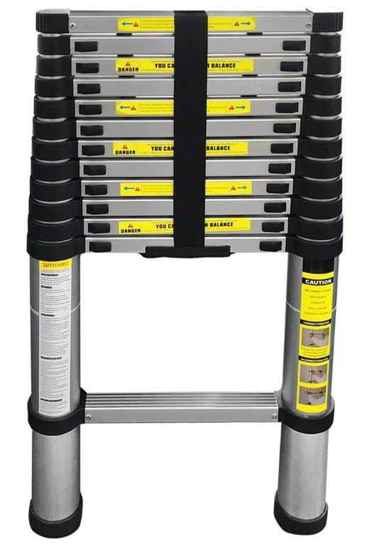 Eaxus Teleskopleiter mit 3,8m Länge für 54,99€ inkl. Versand