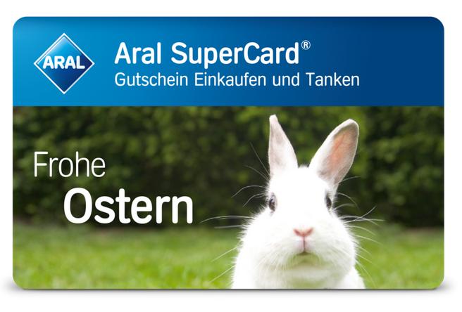 Knaller! 30€ Aral Supercard (Einkaufen & Tanken) für 25€ kaufen