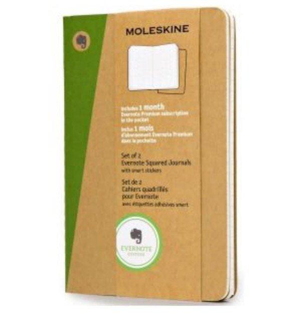 Moleskine Notizbücher reduziert bei Top12 - z.B. 2er Set Moleskine Evernote Notizbuch Pocket für 9,24€