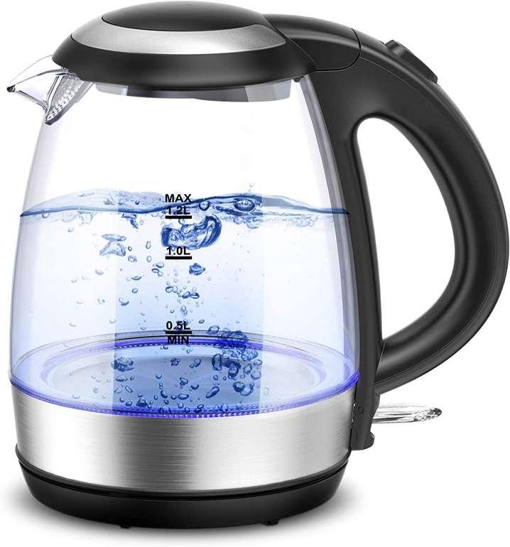 Cocoda elektrischer Wasserkocher (1,2L, 2200W) für 19,79€ inkl. Versand (statt 33€)