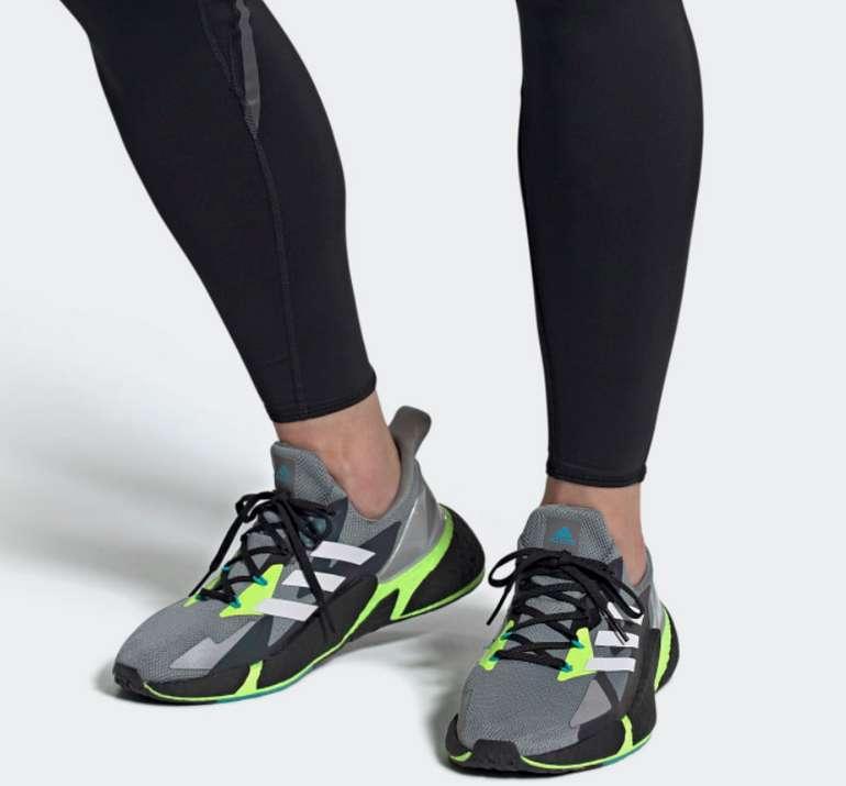 adidas X9000L4 Herren Laufschuhe in grau/grün für 61,58€ inkl. Versand (statt 77€)