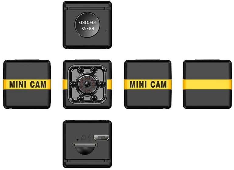 KKmoon 1080P Mini Überwachungskamera für 6,03€ inkl. Versand (statt 12€)
