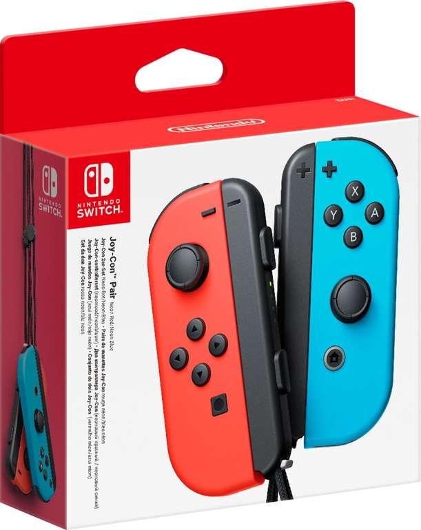 2er-Set Nintendo Switch Joy-Con Controller in Neon-Rot/Neon-Blau für 59,99€ inkl. Versand (statt 69€)