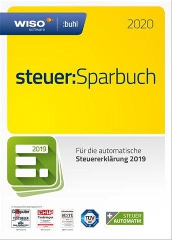 WISO Steuer: Sparbuch 2020 - frustfreie Verpackung (für Steuerjahr 2019) für 19,80€ inkl. Versand