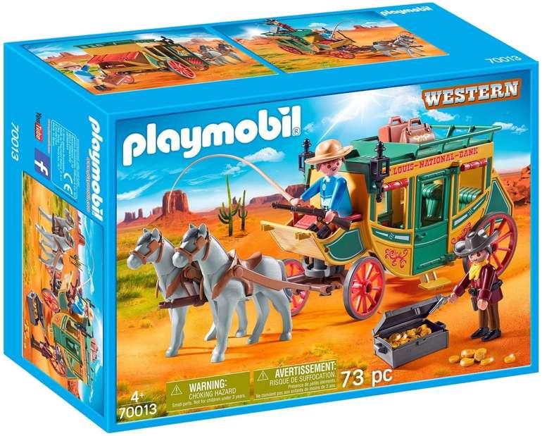 Playmobil Western - Westernkutsche (70013) für 14,85€ inkl. Versand (statt 19€)
