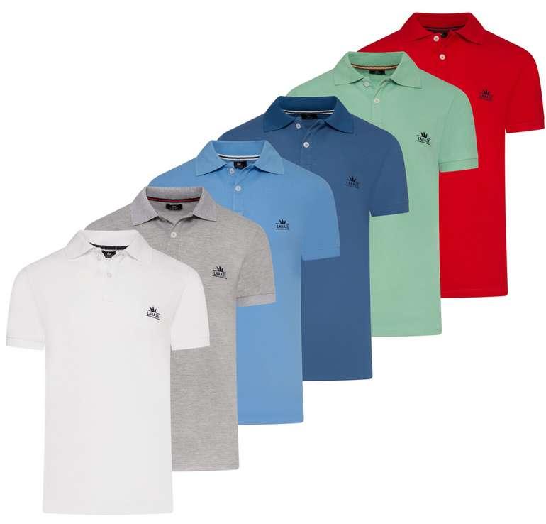Larazé Herren Poloshirt (vers. Farben) zu je 16,95€ inkl. Versand (statt 20€)