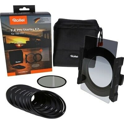 Rollei F:X Pro Starter Kit (Soft GND8 Grauverlaufsfilter + Polfilter) für 226€ inkl. VSK