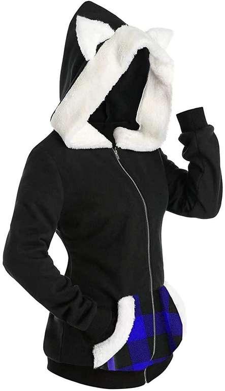 Neeky Damen Hoodie mit Katzenohren für je 11,88€ inkl. Versand (statt 16€)