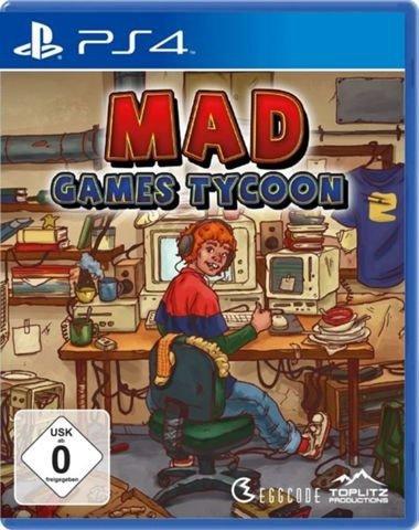 Mad Games Tycoon für PlayStation 4 für 10€ inkl. Versand (statt 20€)