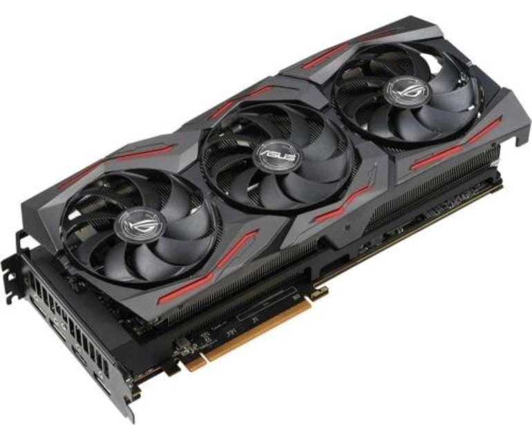 Asus Rog Strix Radeon RX 5700 XT OC Gaming (8GB GDDR6, HDMI, 3x DP (90YV0D90-M0NA00)) für 368,10€