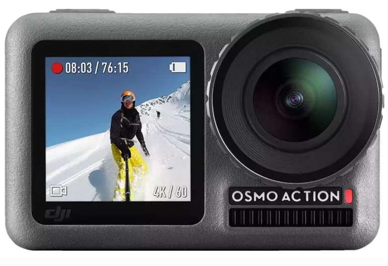 Saturn Foto Schnappschuss-Angebote - z.B. DJI Osmo Actionkamera mit 4K HDR-Video + Ladekit für 291,97€