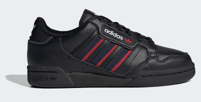 Adidas Continental 80 Stripes Kinder Sneaker für 31,20€ inkl. Versand (statt 50€)