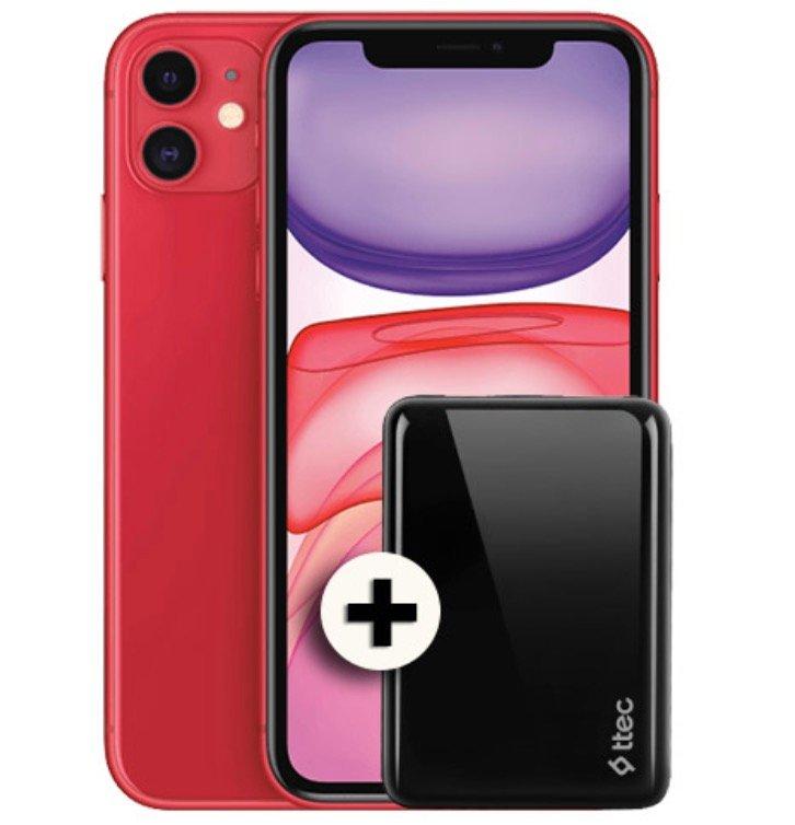 Apple iPhone 11 mit 64GB (1€) + Powerbank + Vodafone Smart XL (20GB LTE, Allnet & SMS) für 41,99€ mtl.