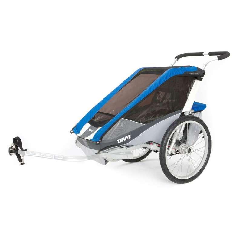 Thule Kinderfahrradanhänger Chariot Cougar 2 in Blau für 521,99€inkl. Versand (statt 660€)