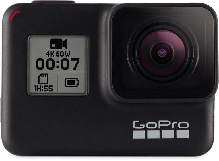 GoPro Hero7 Black Action Cam (4K mit 60fps) für 249€ inkl. Versand (statt 279€)