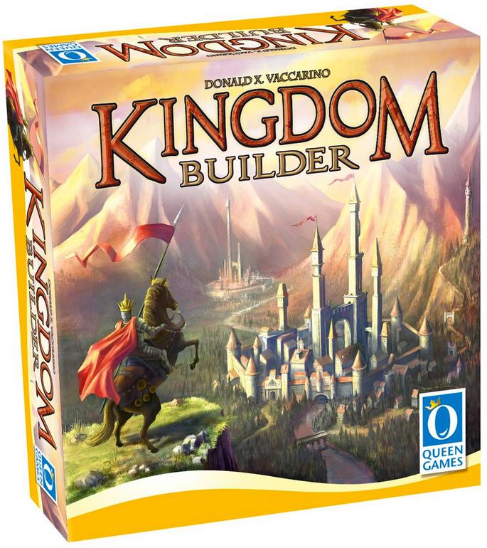 Galeria Kaufhof: Gesellschaftsspiele im Angebot, z.B. Kingdom Builder für 12,74€