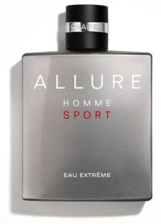 150ml Chanel Allure Homme Sport Eau Extrême Eau de Parfum für 89,60€ (statt 110€)