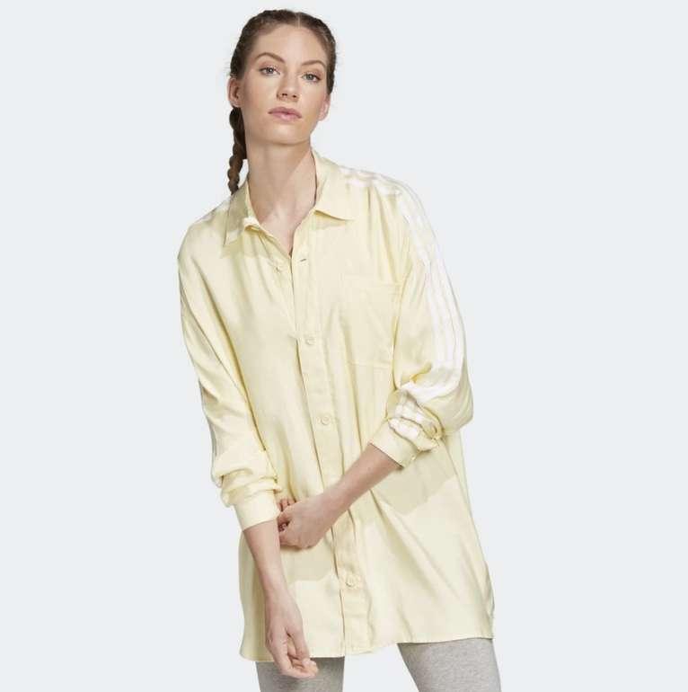 Adidas Satin Button-Up Damen Hemd für 22,38€ inkl. Versand (statt 40€) - Creators Club!