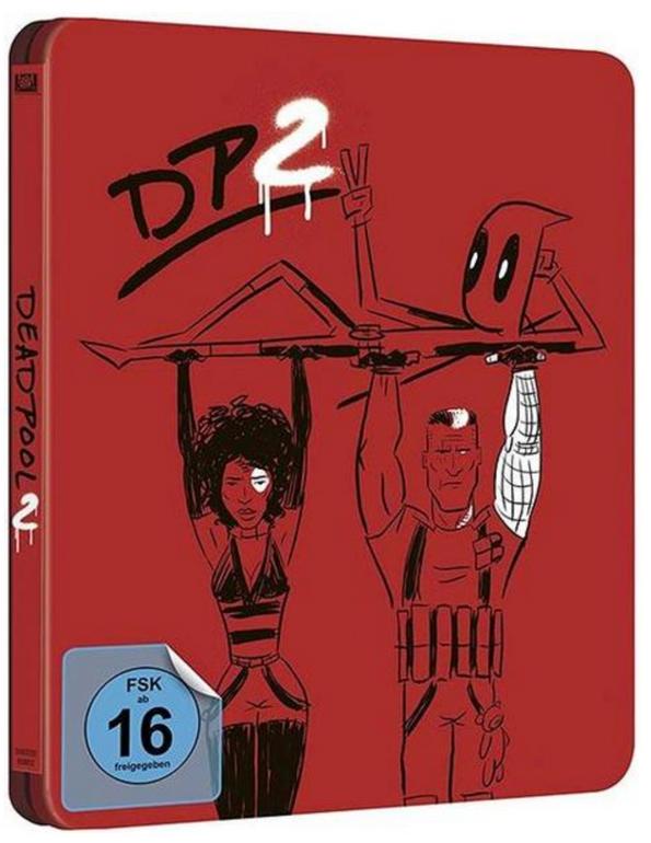 Deadpool 2 - Steelbook Limited Edition (Blu-ray) zu 21,74€ inkl. VSK (statt 33€)