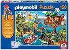 Schmidt Spiele (56164) Puzzle Playmobil Baumhaus für 6,94€ mit Prime!