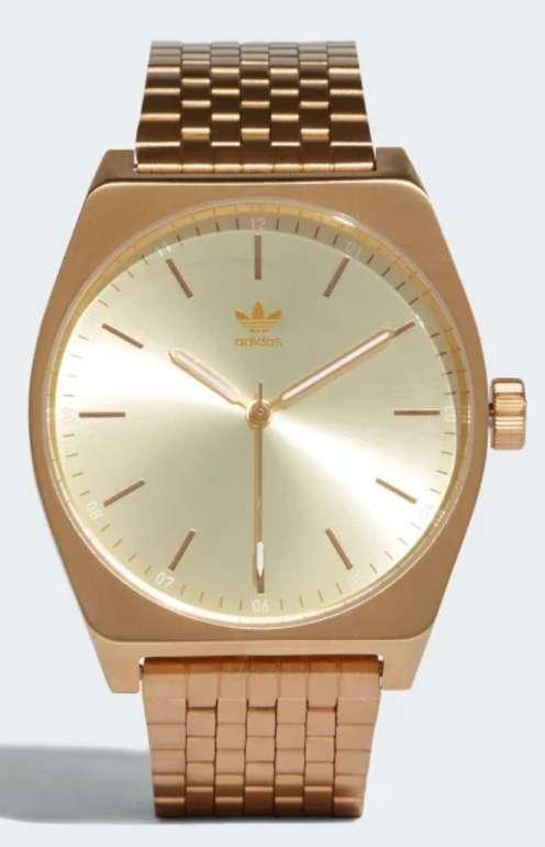 """Adidas Originals """"Process_M1"""" Armbanduhr in gold für 68,21€ inkl. Versand (statt 97€)"""