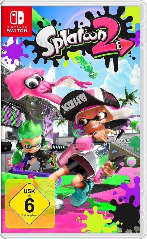 Splatoon 2 (Nintendo Switch) für 39€ inkl. Versand (statt 49€)