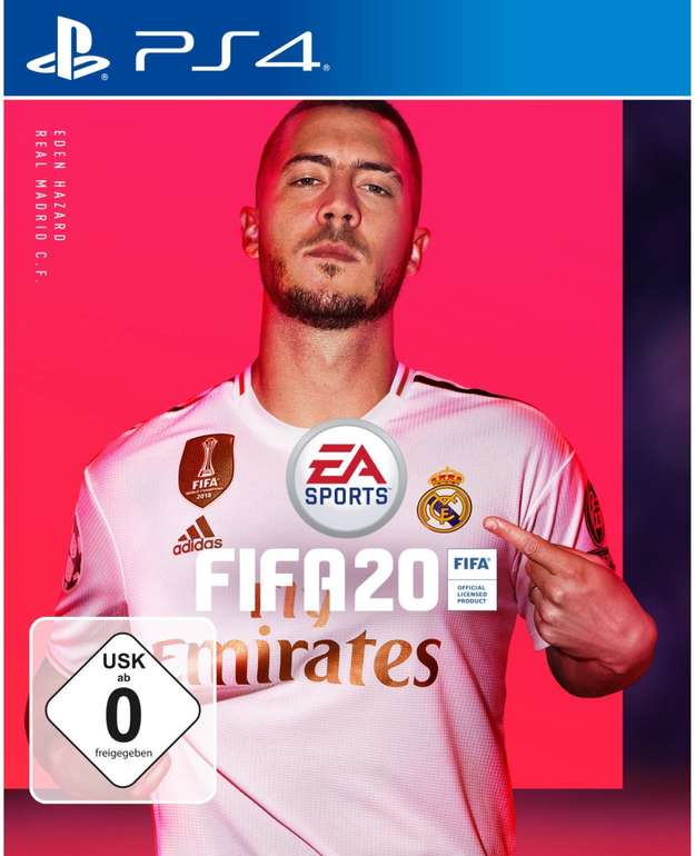 FIFA 20 für die PS4 für 22,50€ inkl. Versand (statt 30€)