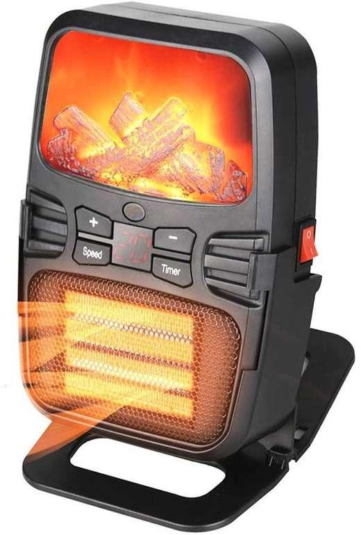 KKmoon Heizlüfter mit 900 Watt für 13,69€ inkl. VSK (statt 27€)