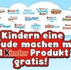 Am 19. September: Kinder-Produkt kaufen & später Geld zurück erhalten