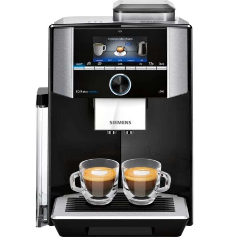 Siemens TI9555X9DE EQ.9 Plus Connect S500 Kaffeevollautomat für 1069€ (statt 1199€)