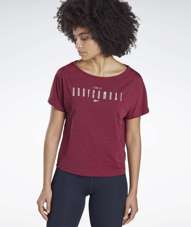 Reebok Damen Les Mills Bodycombat Activchill T-Shirt für 27,26€ inkl. Versand (statt 39€)