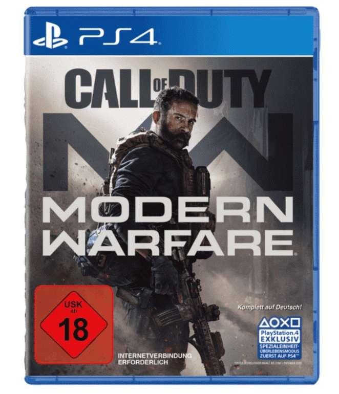 CoD Call of Duty: Modern Warfare (PS4) für 44,95€ inkl. Versand (statt 60€)