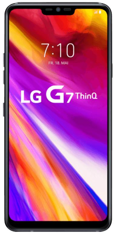 LG G7 ThinQ Smartphone 6 Zoll Display (64GB, 4GB) in blau für 324,90€ inkl. VSK