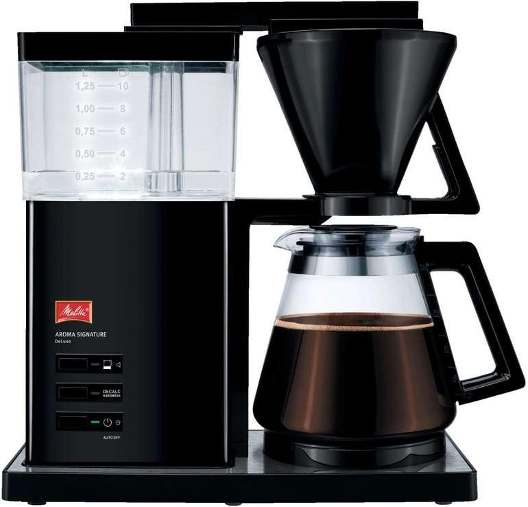 Melitta 1007-03 Aroma Signature Deluxe Kaffeemaschine mit Aromaschalter für 75€ inkl. Versand (statt 107€)