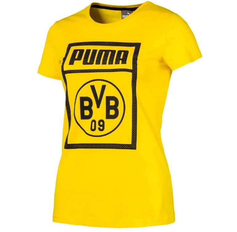 Puma BVB Borussia Dortmund Damen Tee Fanshirt für 9,09€ inkl. Versand (statt 29€)