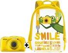 Nikon Coolpix W100 Kinderkamera mit 13,2 Megapixeln und Rucksack für 99€