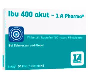 Sanicare: Medikamente versandkostenfrei bestellen - z.B. Ibu 400 Akut für 4,25€