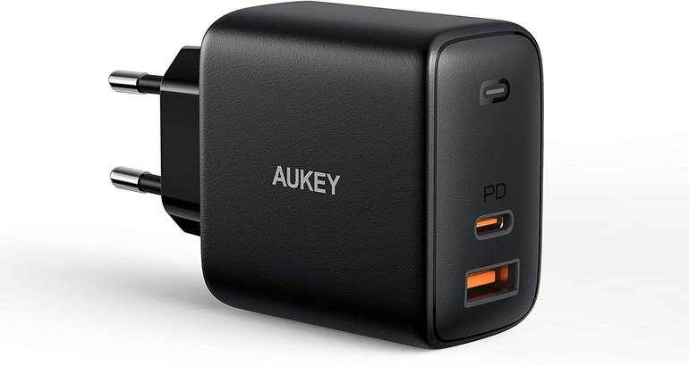 Aukey Omnia 65W USB C Ladegerät mit GaNFast Tech für 29,99€ inkl. Versand (statt 50€)